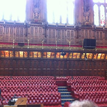 House of Lords is pretty lavish.