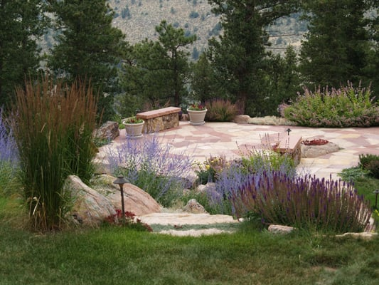 Evergreen landscape design landscaping evergreen co for Colorado landscape design