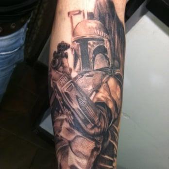 Bad fish tattoo studio tattoo norwalk ct yelp for Tattoo places in ct