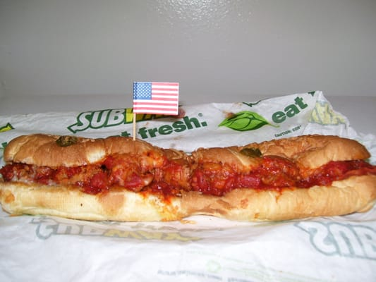 recipe: meatball marinara subway recipe [30]