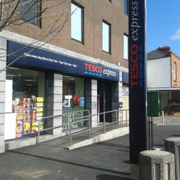 Tesco express at Leonards Corner