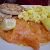 scottish salmon breakfast