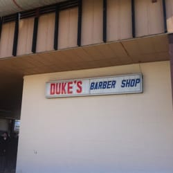 Dukes Barber Shop, Edmonton, AB, Canada by Brittany K.
