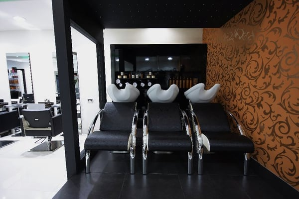 The relaxing and luxurious backwash area