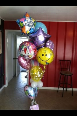 Birthday Balloon Bouquet Call For Pricing Yelp