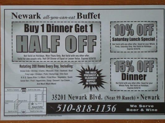newark buffet coupon sweet wise nashville rh louisvuittonhandbags onsale info Newark Buffet Mongolian Newark Buffet Menu
