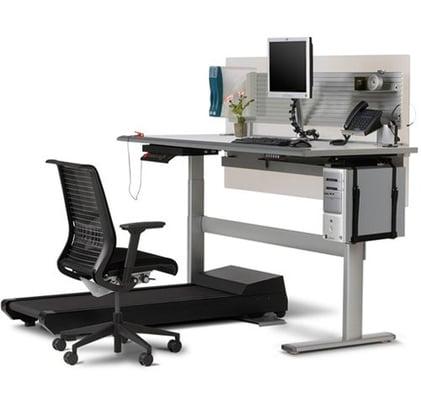 Steelcase Walkstation Treadmill Desk Yelp