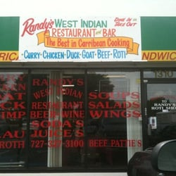 Randy s west indian restaurant moved tyrone saint for Ajanta indian cuisine st petersburg