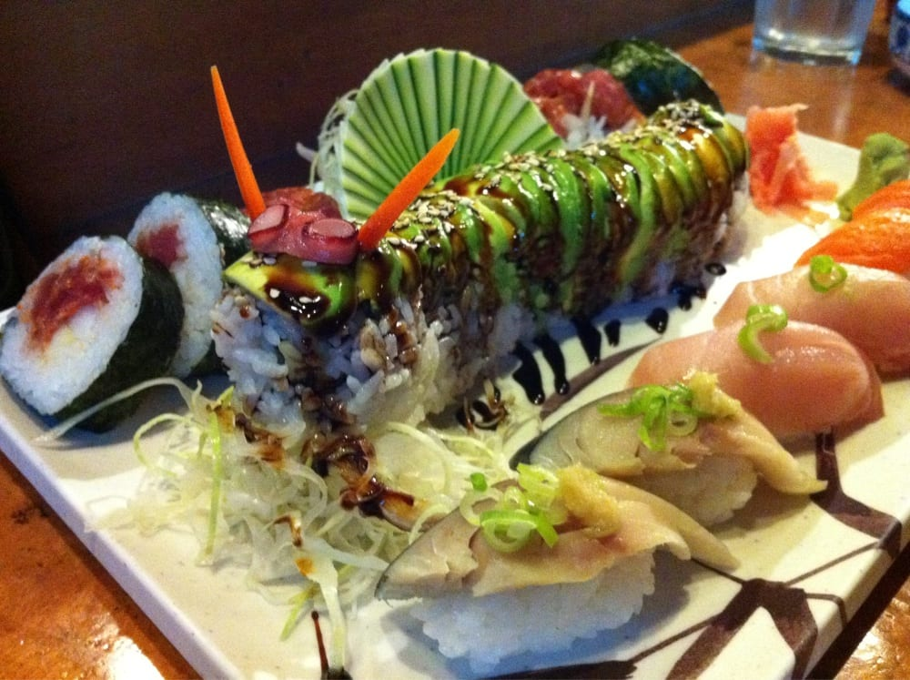 Caterpillar roll & others | Yelp