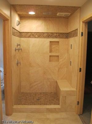travertine bathroom lawrenceville | yelp