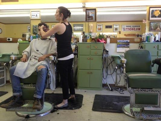 Barber Shop Asheville Nc : Joe King Barber & Styling Shop - Barbers