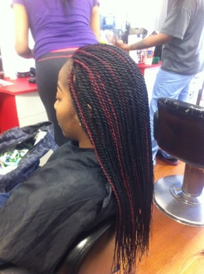 Zumba Crochet Hair : Senegalese Twist Back Yelp LONG HAIRSTYLES