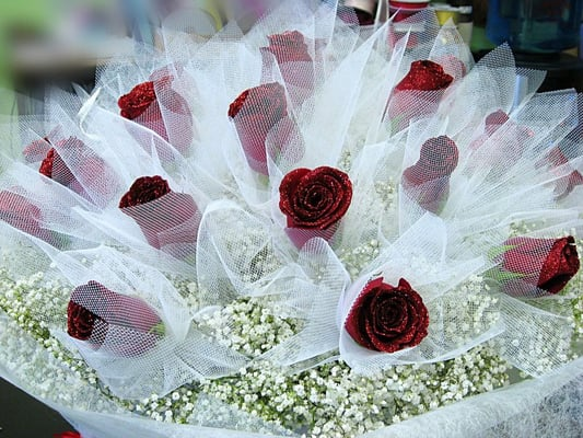 Gorgeous Red HK Style Roses