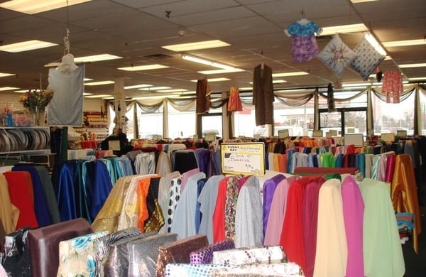Sewfisticated discount fabrics fabric stores for Fabric outlet near me