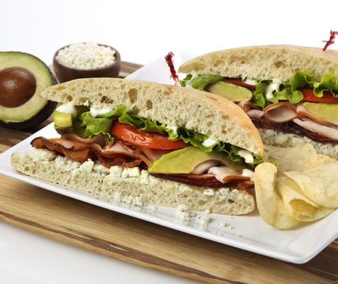 sandwich turkey cobb club sandwich at mcalister s deli club sandwich ...