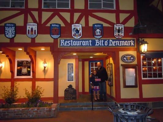 Bit o'Denmark for dinner