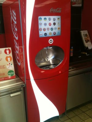 burger king soda machine