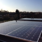 Flat roof with 5o pitch, Richmond, London