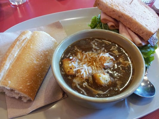 Bistro French Onion Soup and Bacon Turkey Bravo | Yelp