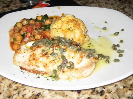Imperial Longfin - pan-seared/baked/stuffed w/shrimp, scallops, crab ...