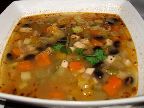 Grilled Chicken Black Bean and Vegetable Soup   Yelp