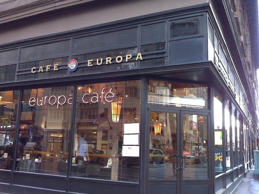 Europa Cafe New York Ny