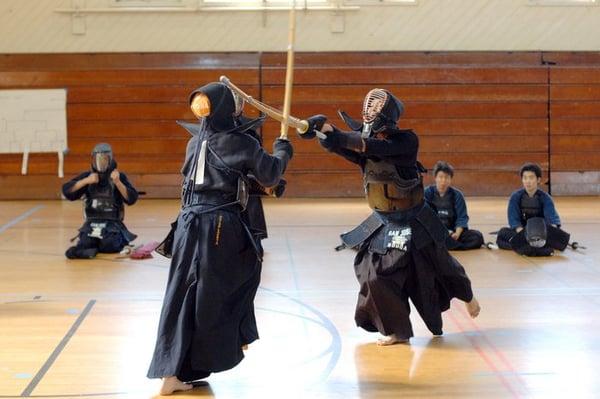 Southern alameda county kendo dojo sports clubs union for Kendo dojo locator