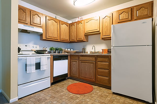 Updated kitchens complete with appliances | Yelp