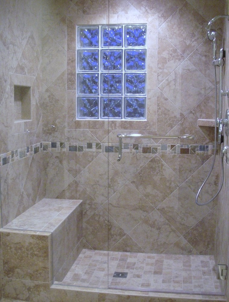 Tile Showers With Bench Home Design