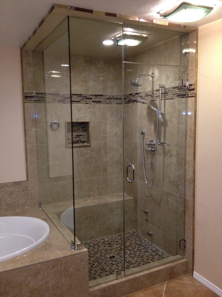 Custom Frameless Steam Shower Enclosure Yelp