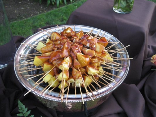 Chicken & Pineapple Teriyaki Skewers | Yelp