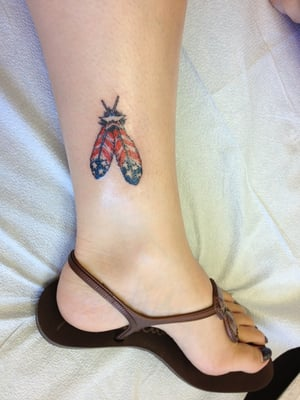 Inner Ankle Tattoo Images & Pictures - Becuo
