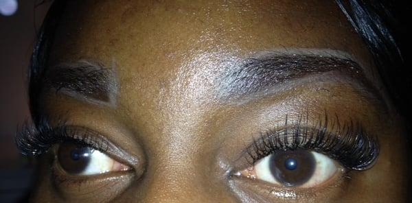 Eyelash Extensions Curly Eyelashes 117