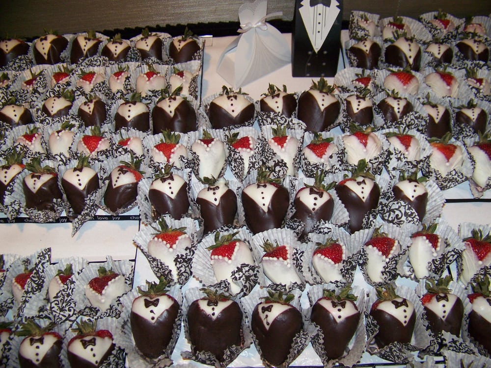 Chocolate Covered Strawberries Bride And Groom Yelp