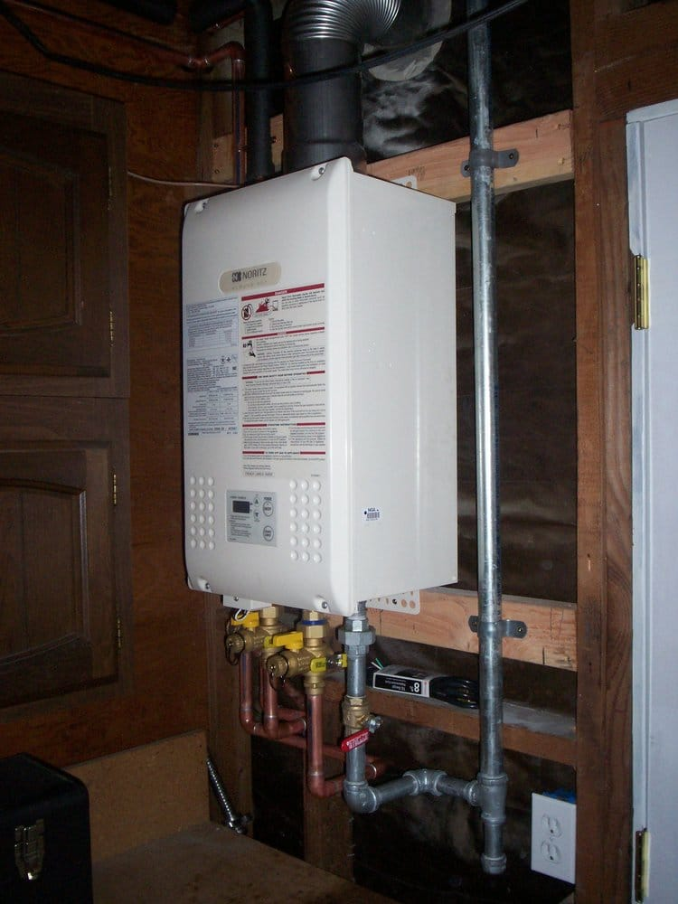 Residential Noritz Tankless Water Heater N 751m Dvc Indoor