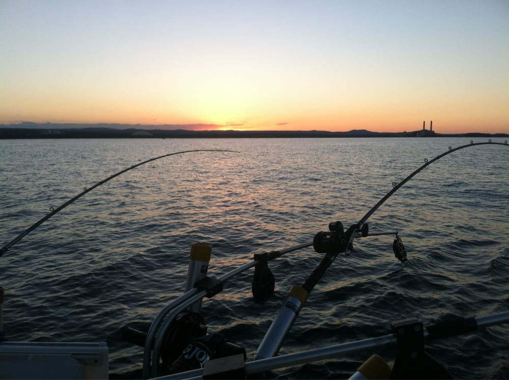 Fishing lake superior for lake trout chinock king salmon for Fish in lake superior