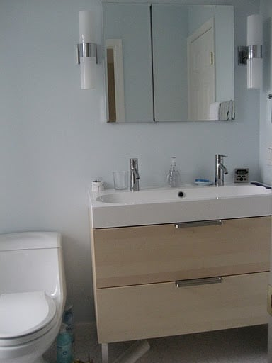 Ikea bathroom remodel dc plaster yelp for Bathroom remodel yelp
