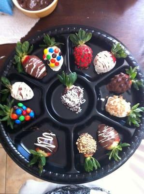 Designer Chocolate Covered Strawberries Yelp