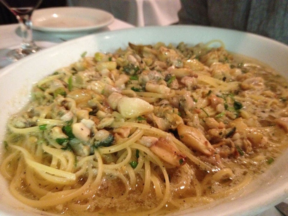 linguine with white clam sauce | Yelp