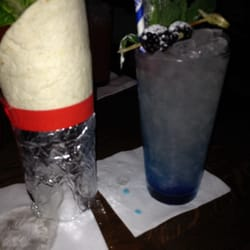 Burrito mojito (!) and a Mickey blue Eyes for London Cocktail week