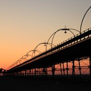 Southport Pier at Sunset (c) Discover Southport