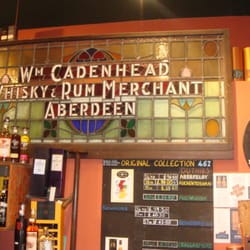 Cadenhead's Whisky Shop, Edinburgh, UK