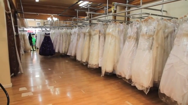 Moulin rouge bridal downtown los angeles ca for Santee alley wedding dresses