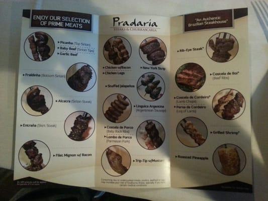 Pradaria steaks & churrascaria coupon
