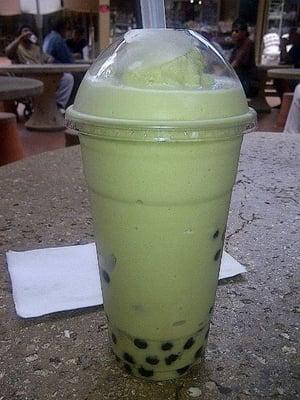 green tea (MATCHA) bubble tea | Yelp