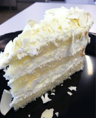 White chocolate mousse cake   Yelp
