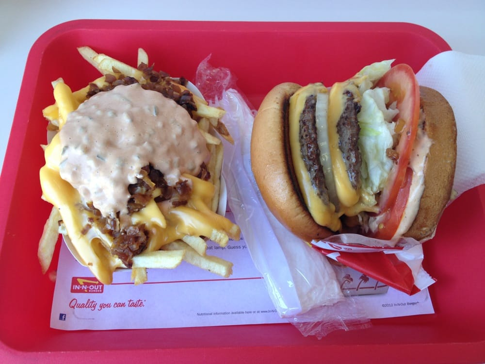 Double double with Animal Style Fries | Yelp
