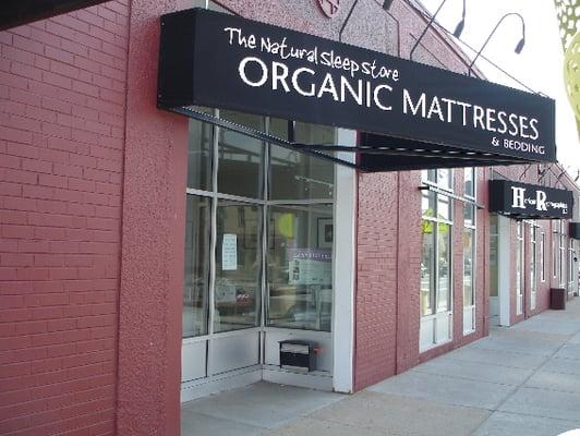 Denver organic mattress showroom