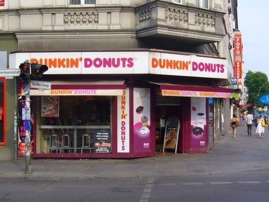 dunkin donuts donuts neuk lln berlin germany. Black Bedroom Furniture Sets. Home Design Ideas
