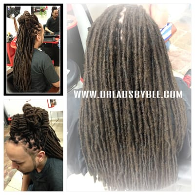 Dread extensions by bee braids by bee yelp for Benite home depot